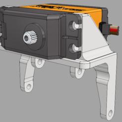 Descargar modelos 3D gratis Montaje del servoeje axial AR44, stomperxj