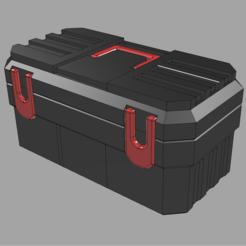 Descargar archivos 3D gratis 1/6 Caja de herramientas de Hasbro Willy con bandeja, stomperxj