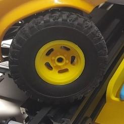 yellow_slot_mag.jpg Télécharger fichier STL gratuit WPL Slot Mag 6 Lug • Plan pour impression 3D, stomperxj