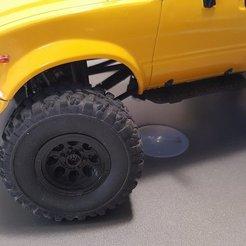 Download free STL files WPL Wheel - 8 Hole, 6 Lug, stomperxj