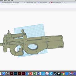 Schermafbeelding 2020-06-07 om 11.46.07.png Télécharger fichier STL p90 • Plan pour imprimante 3D, blackbullet