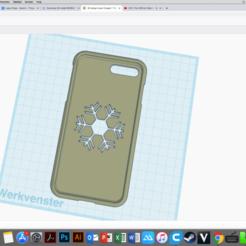 Download 3D printing designs iphone 7+ case, blackbullet