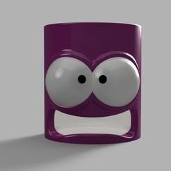 CMD_Miniature.jpg Télécharger fichier STL gratuit Distributeur de coton démaquillant, pot, boite, coton, maquillage • Design pour imprimante 3D, Ficel