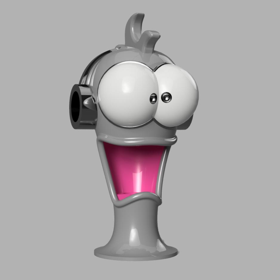 Miniature_bis.jpg Télécharger fichier STL CrazyJoe, gadget magnétique, porte stylo, porte outils,  • Plan pour imprimante 3D, Ficel