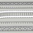 Download free 3D print files N-scale - Plate Girder Bridge, hschuhmacher