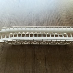 Download free 3D print files N-scale - Plate Girder Bridge, hschuhmacher