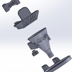 sw.jpg Télécharger fichier STL Photon Anyubic ZERO Pile de gouttes de résine de cuve • Modèle à imprimer en 3D, MikiMan