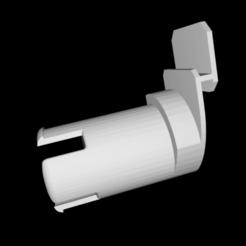 Descargar diseños 3D gratis Portacarretes de filamentos para Flashforge Creator Pro con eje más largo, adam37