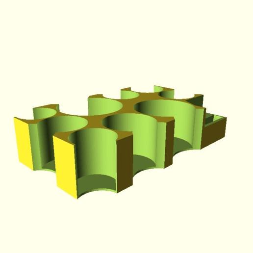 c101302c33830706cb58f2f3b83c4a32.png Télécharger fichier SCAD gratuit Porte-cartes/jeton de l'Académie Mage Wars • Plan à imprimer en 3D, ksuszka