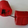 Download free STL file Milwaukee M12 flashlight with adjustable head • 3D printer template, ksuszka