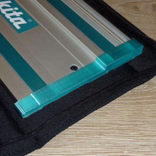 P1220450.JPG Télécharger fichier STL gratuit Couverture de protection contre les éclats de rail du guide Makita • Design pour imprimante 3D, ksuszka