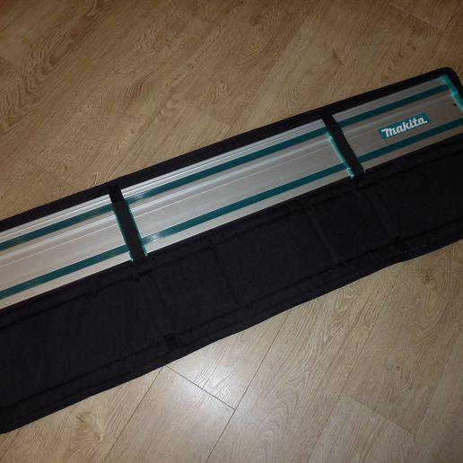 P1220445.JPG Télécharger fichier STL gratuit Couverture de protection contre les éclats de rail du guide Makita • Design pour imprimante 3D, ksuszka