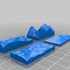 Télécharger fichier imprimante 3D gratuit Bibliothèque de génération de terrain OpenSCAD, ksuszka