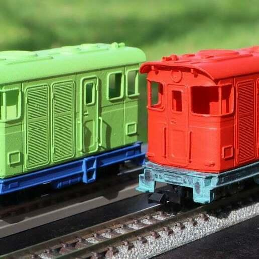 IMG_8005.JPG Télécharger fichier STL gratuit H0e Locomotive LSM 03 / Kato 11-105 11-106 11-107 N>H0e • Design imprimable en 3D, makobe