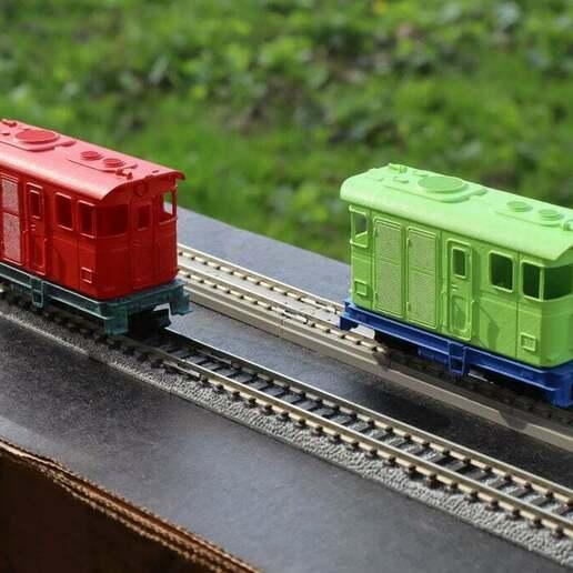 IMG_7995.JPG Télécharger fichier STL gratuit H0e Locomotive LSM 03 / Kato 11-105 11-106 11-107 N>H0e • Design imprimable en 3D, makobe