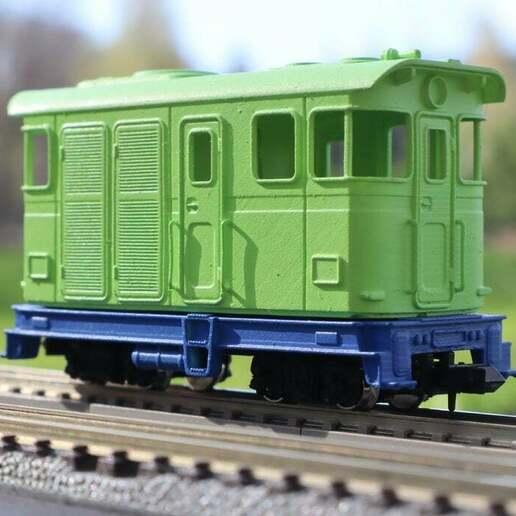 IMG_8000.JPG Télécharger fichier STL gratuit H0e Locomotive LSM 03 / Kato 11-105 11-106 11-107 N>H0e • Design imprimable en 3D, makobe