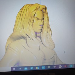 20201025_220344.jpg Download STL file Scarlet  • 3D print template, cubarman1