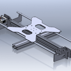 Télécharger plan imprimante 3D gatuit Tevo Tarentule Axe Y : oscillation fixée à l'aide de pièces en tôle, montuparmar1