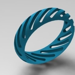 1.JPG Download free STL file Designer Bracelet For Girls • 3D printable model, montuparmar1