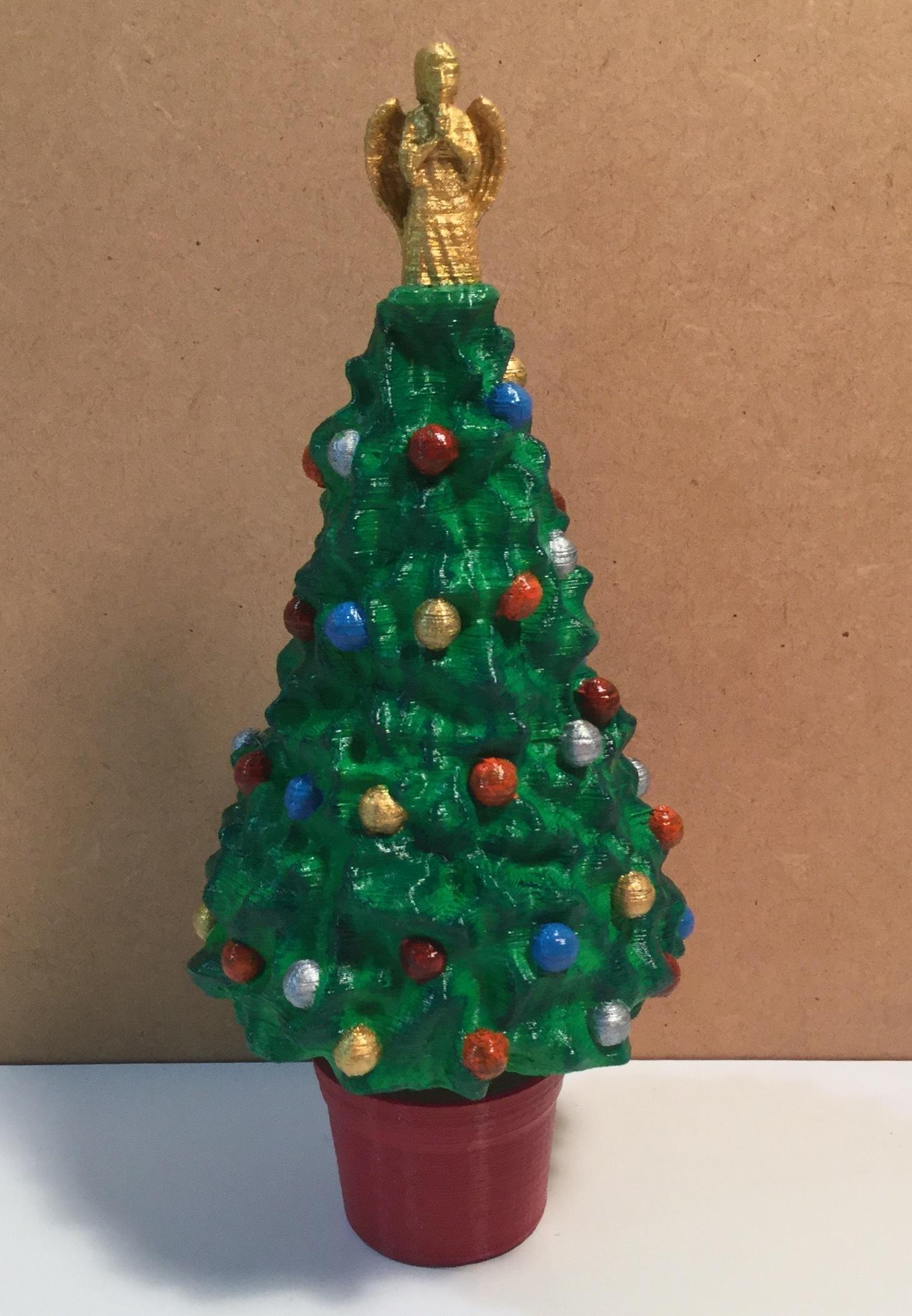 FullSizeRender_23.jpg Download free STL file Xmas tree with Angel or Star • 3D printing design, cmtm