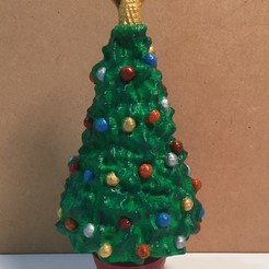 Download free STL file Xmas tree with Angel or Star, cmtm