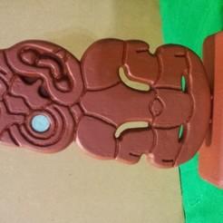 Imprimir en 3D gratis Tiki de Nueva Zelanda, cmtm