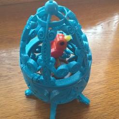 Descargar modelo 3D gratis Pájaro en una jaula (estilo Quilling), cmtm