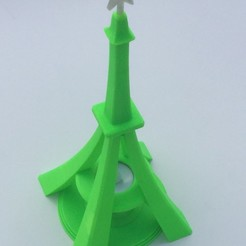 Download free 3D printing files Eiffel Tower styled Xmas Tree, cmtm