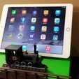 20150502_164000.jpg Download free STL file IPAD STAND (STEAM ENGINE) • 3D printing object, cmtm
