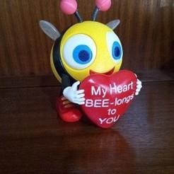 b1.jpg Download free STL file Bee Mine • 3D printable template, cmtm