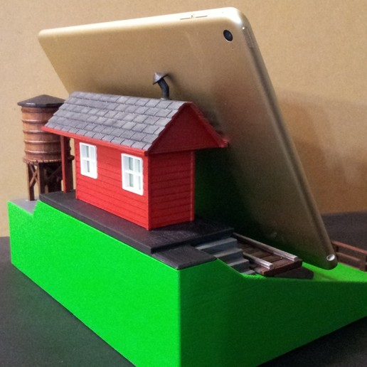 20150502_164140.jpg Download free STL file IPAD STAND (STEAM ENGINE) • 3D printing object, cmtm