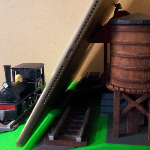20150502_164023.jpg Download free STL file IPAD STAND (STEAM ENGINE) • 3D printing object, cmtm
