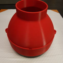 Download free 3D printing designs PM 2.5 filter adapter for ventilation, imho3D