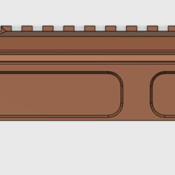 Descargar archivos 3D AK105 RAILS0.3(AK Railed Dust Cover), rownchen0101