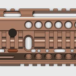 Descargar STL AK105 RAILS0.2, rownchen0101
