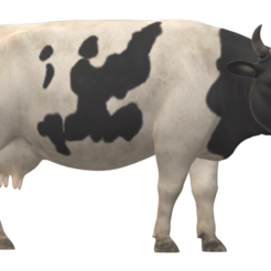 cow.png Download STL file real cow • 3D printer model, walidemad
