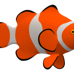 nemo fish.png Download 3MF file real fish • 3D printable object, walidemad