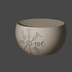 cuenco.png Télécharger fichier STL Caldero Yule Christmas • Design à imprimer en 3D, hasturkaos
