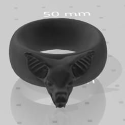 Descargar Modelos 3D para imprimir gratis Anillo murciélago, hasturkaos
