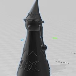 bruja.jpg Télécharger fichier STL Sorcière Wiccan • Design à imprimer en 3D, hasturkaos