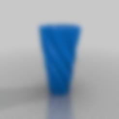 Download free 3D printer templates Twisty Pen Holder, EarlCropp