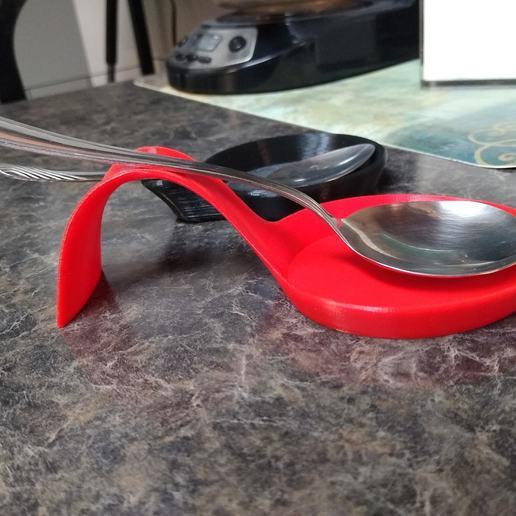Download free 3D printer designs Spoon Rest, EarlCropp