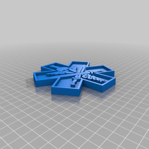 Download free 3D printing files Tactical Medic Badge, EarlCropp