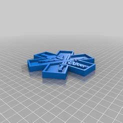 Télécharger fichier 3D gratuit Insigne de médecin tactique, EarlCropp