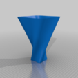 Download free 3D printer designs Twisted Vase, EarlCropp