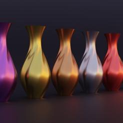Imprimir en 3D gratis Jarrón elegante, EarlCropp