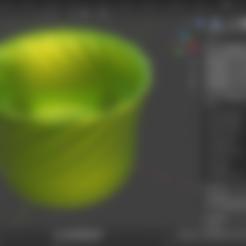 Download free STL Succulent Pot, EarlCropp