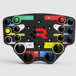 164bc4ea-35d7-4101-bbcf-37259158f25a.png Download STL file Bentley Continental GT3 Button Plate • 3D printer design, R_Racing