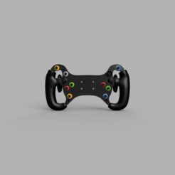 3D_Version_2020-May-07_06-04-14PM-000_CustomizedView16168511511.png Download STL file Mercedes Benz AMG GT3 Steering Wheel • 3D print model, R_Racing