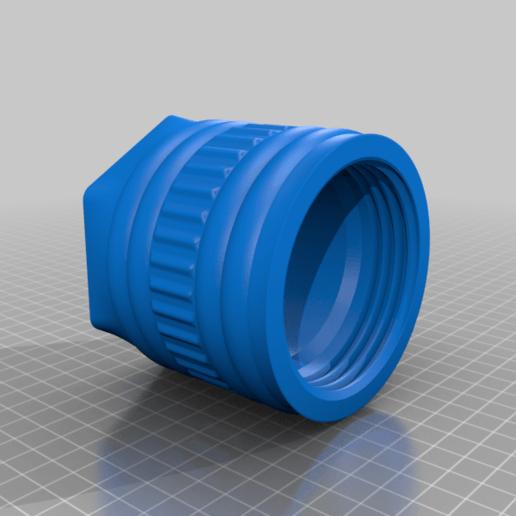 Douille.png Download free STL file Big pen box • 3D print template, Lyryln